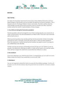 Letter to Families 08042020 PDF - Letter to Families 08042020 PDF