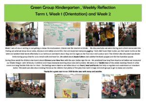 Green Reflection T1 Week 1 - Green Reflection T1 Week 1