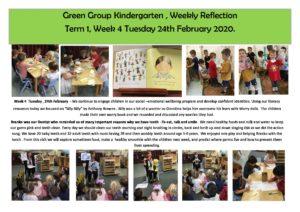 Green Reflection T1 Week 4 - Green Reflection T1 Week 4
