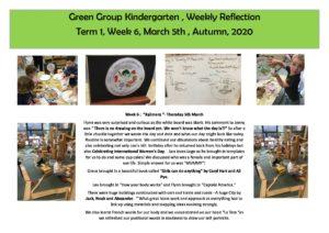 Green Reflection T1 Week 6b - Green Reflection T1 Week 6b