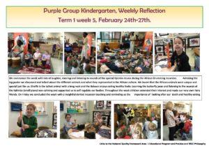 Purple Reflection Week 5 - Purple Reflection Week 5