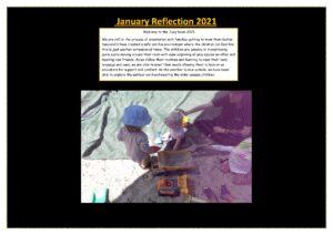 Joey Reflection January 2021 - Joey Reflection January 2021